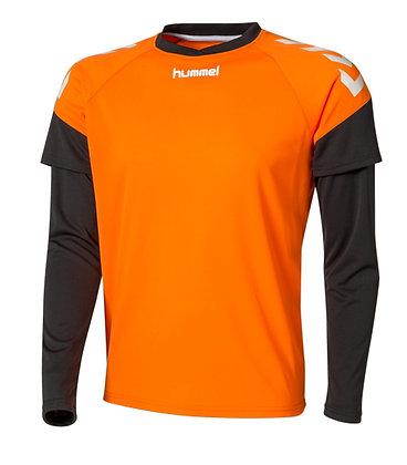 Maillot GK Chevrons Orange Noir