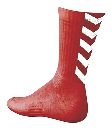 Chaussettes Authentic Rouge/Blanc