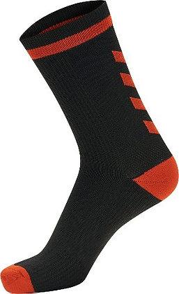 Chaussettes Elite noir/rouge