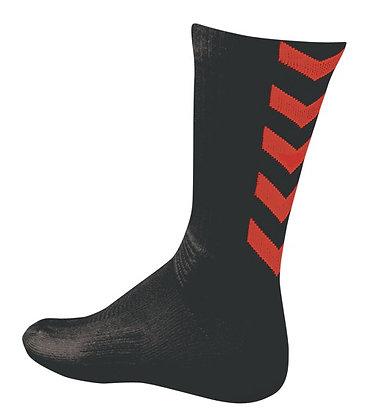 Chaussettes authentic Noir rouge