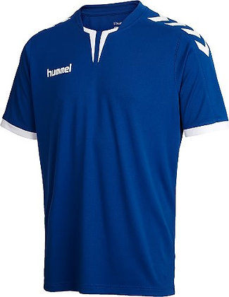 T-Shirt HUMMEL femme Core SS Poly bleu