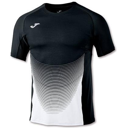 Tee shirt Elite VI Noir blanc Joma