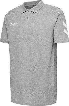 Polo HMLGO Hummel gris