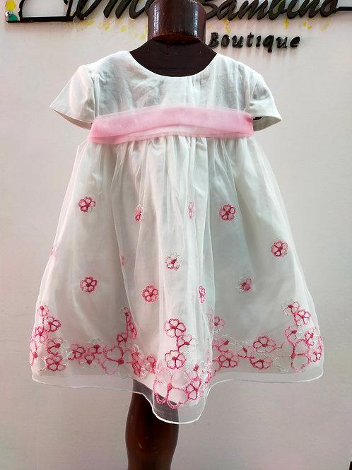 Vestido floreado para niña Mayoral