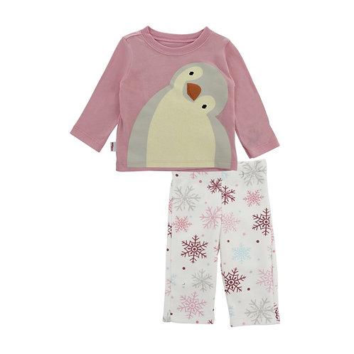 Pijama niña pingüinos Baby Creysi