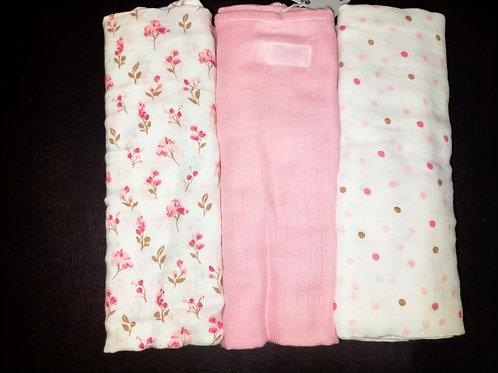 Kit de sabanas manta de cielo rosa