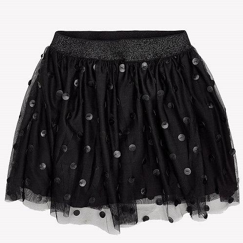 Falda negra marca mayoral