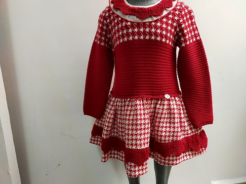 Vestido rojo Foque