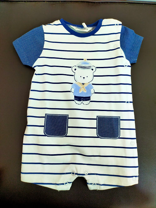 Ranita bebé azul