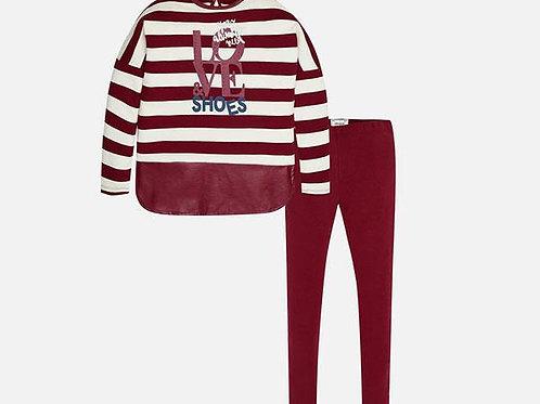 conjunto rojo niña