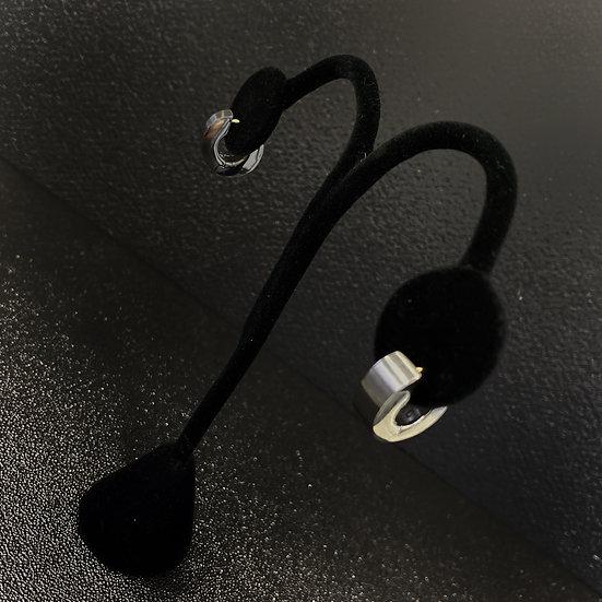 Men's Steel Earrings