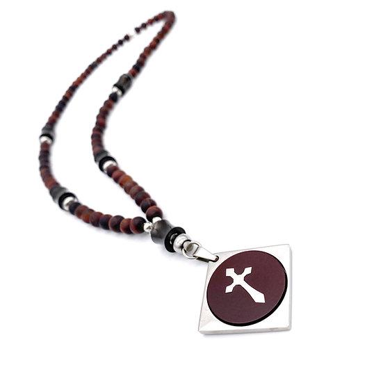 Red Tiger Eye Rosary