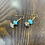 Thumbnail: Fashion Necklace & Earring Faux Turquoise Set