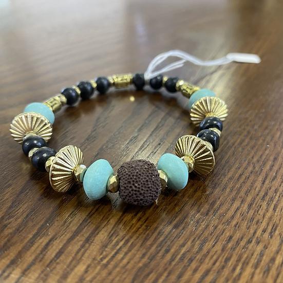 Fashion Bracelet Faux Turquoise Set