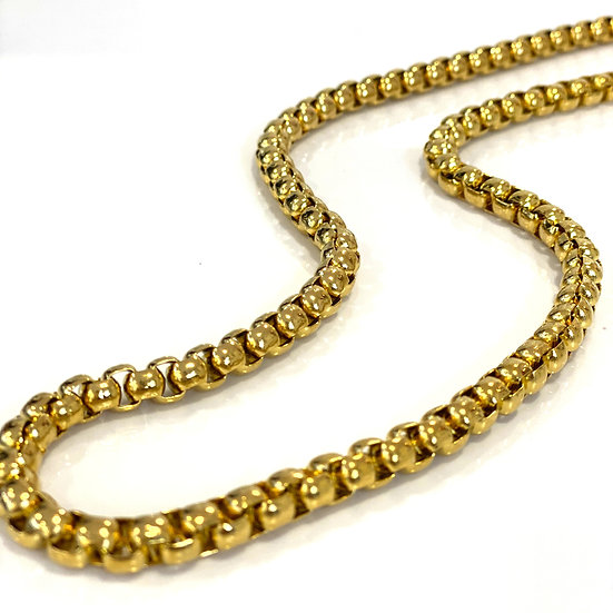 14K Gold Plated David Yurman Inspired Necklace