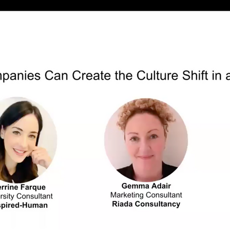 """Top 6 Learnings from our webinar: """"How Tech Companies Can Create the Culture Shift in a Crisis"""""""