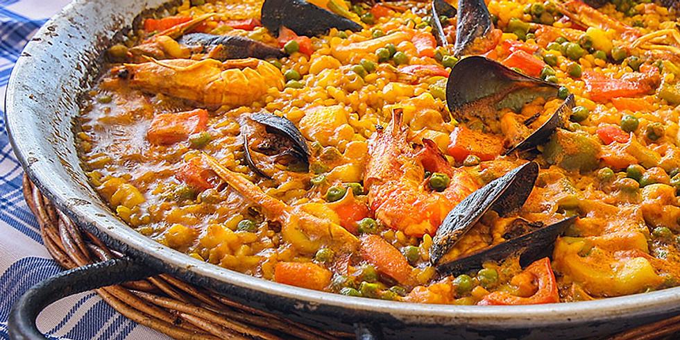 TGI FRI SPANISH 🇪🇸COOKING CLASS🥘: 西班牙厨房派對(每堂只限20人/2邊埸)🎈