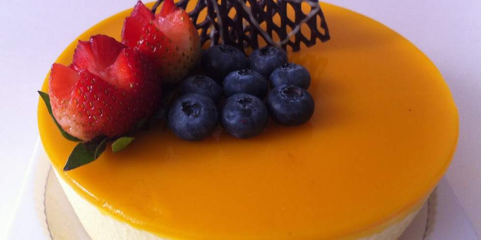 TGI FRI MOTHER'S DAY🥗DESSERT MAKING CLASS: 母親節甜品班日式熱情果豆腐軟芝土蛋糕(每堂只限20人/2邊埸)🎈