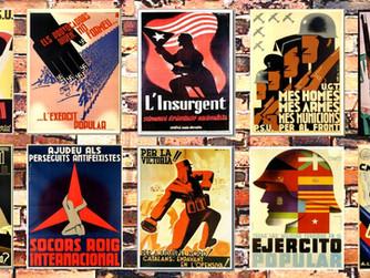 Selección de los 110 carteles más significativos de la Guerra Civil Española