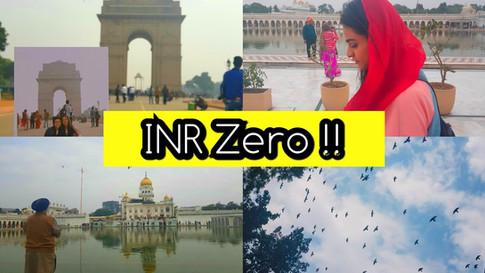 Experiencing Delhi in Rs. 0
