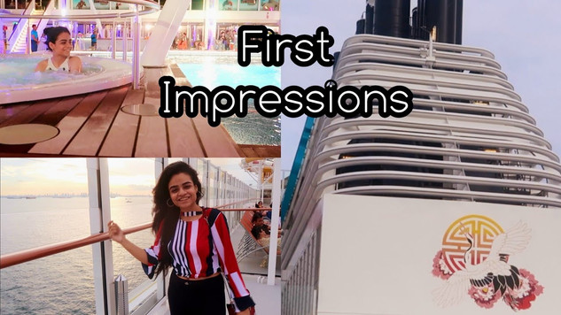 First Impressions of the DREAM Cruise
