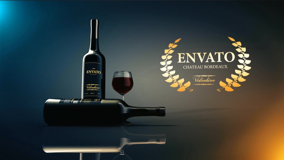 Wine Commercial After Effects Template