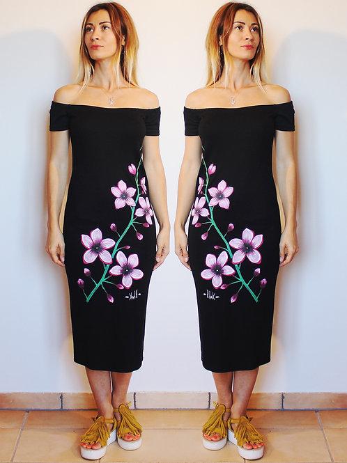 "Dress ""Cherries flowers"""