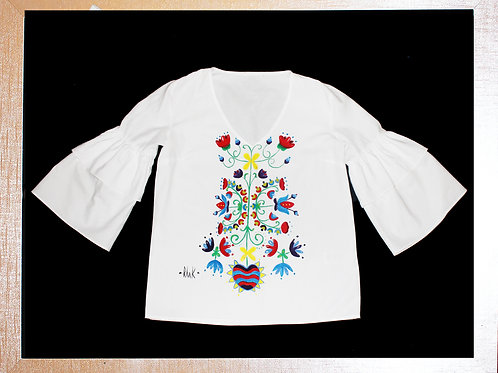 Handpainted customised top