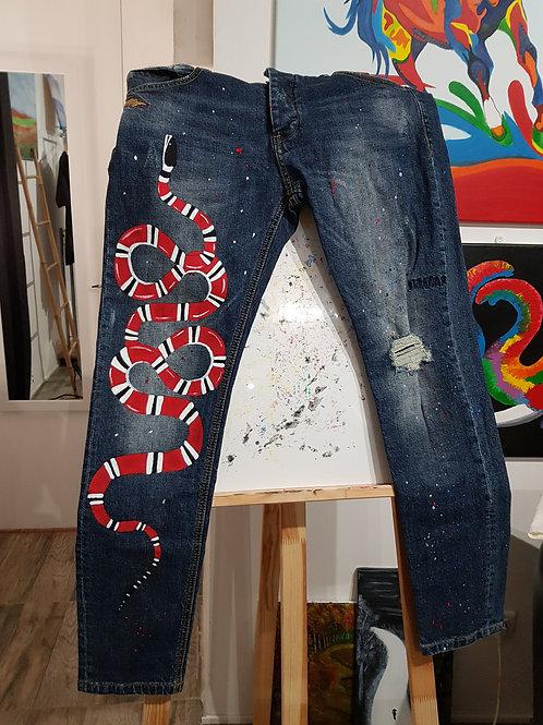Jeans serpent