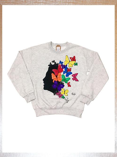 Sweatshirt Buterflie