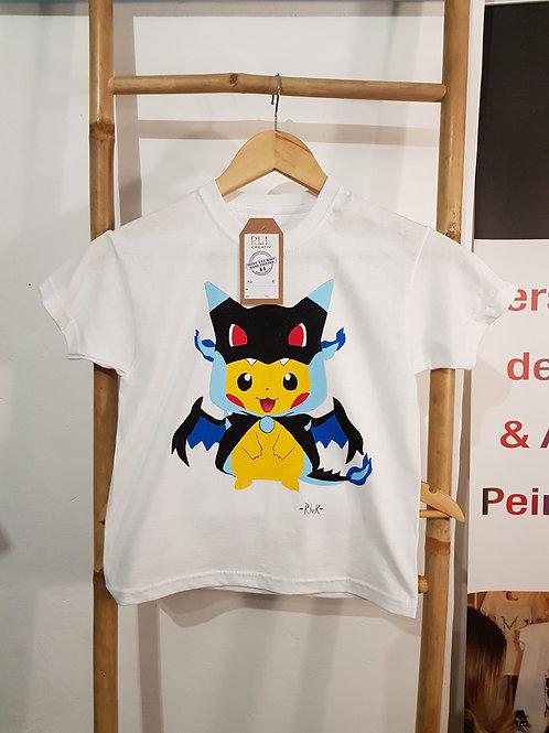 Tee shirt pikachu