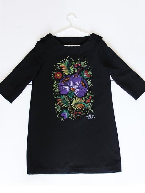 """Dress """"purple flowers"""""""