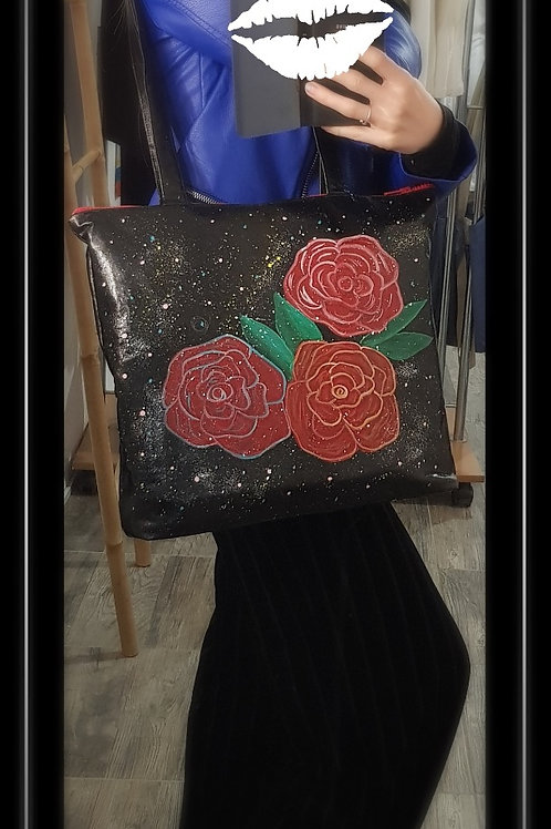 Sac à main -Roses