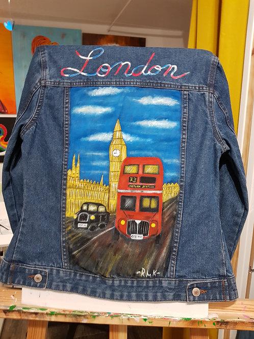 Veste en jeans London