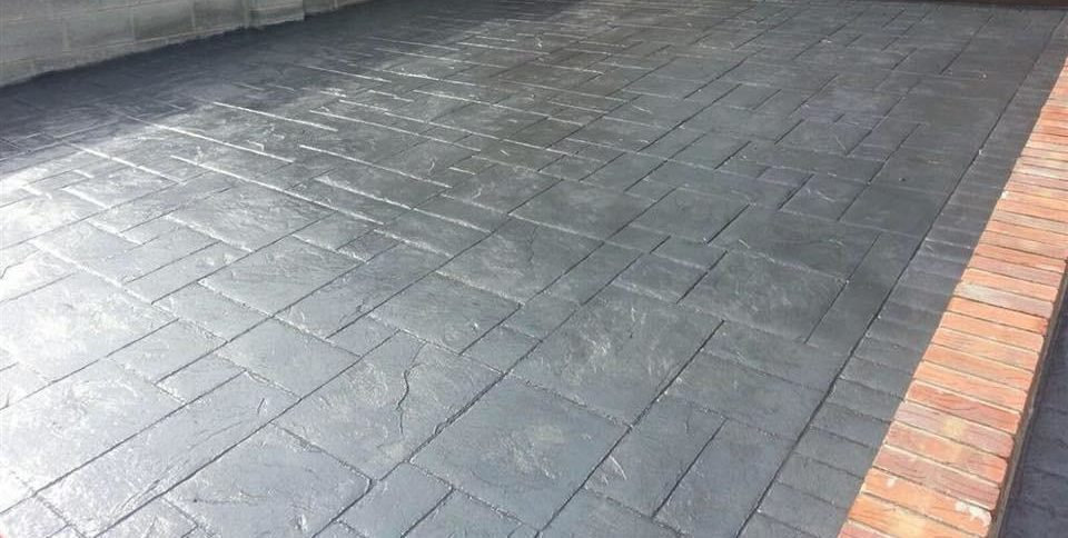 Imprinted Concrete Driveways Redditch