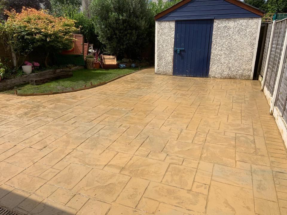 Patterned Imprinted Concrete Worcester