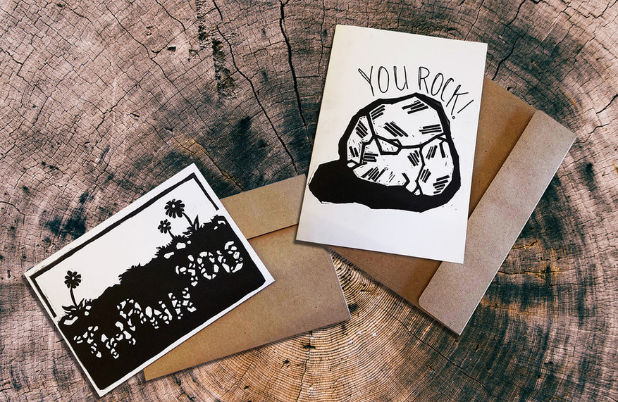 Handmade Thank You Cards by Sarah Mac