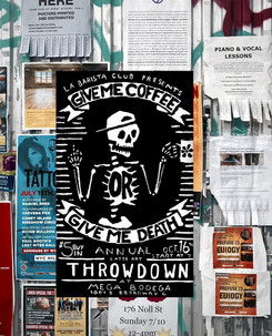 Promotional poster for Latte Art Competition
