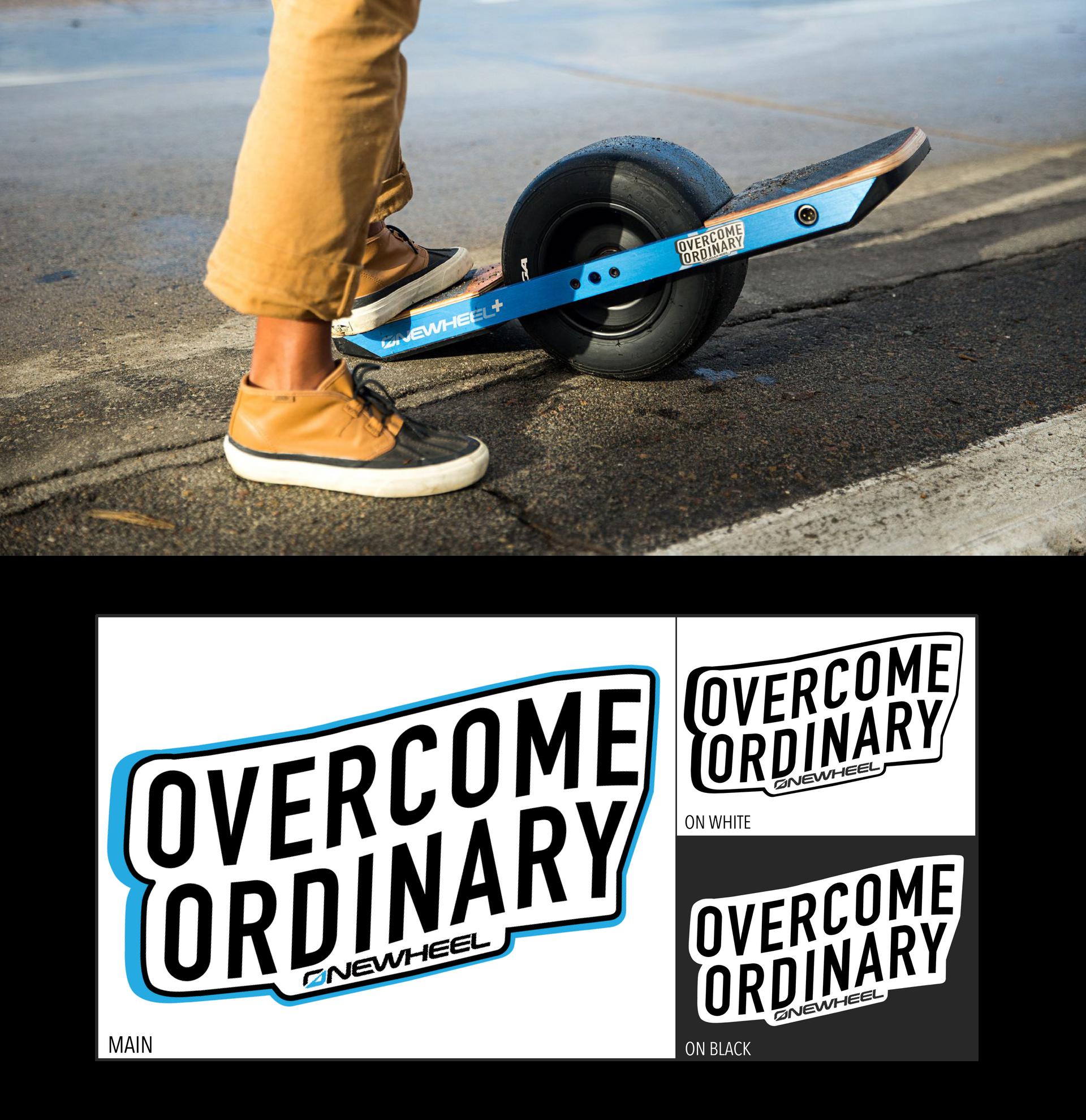 Overcome Ordinary Logo by Sarah Mac