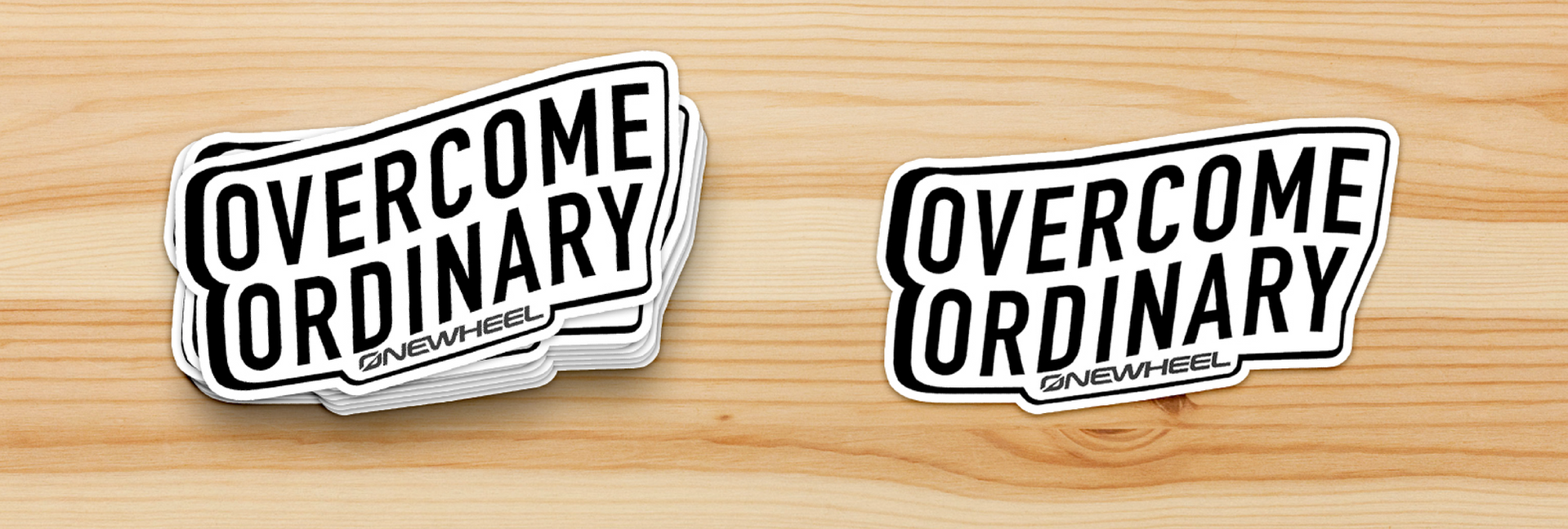 Overcome Ordinary Stickers by Sarah Mac