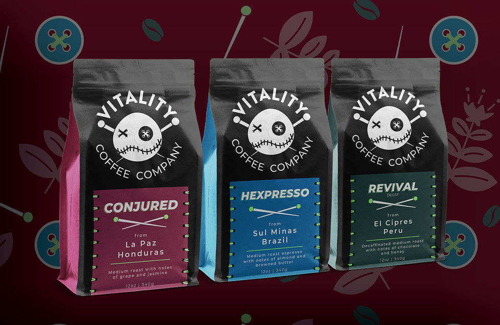 Vitality Coffee Co. Bags