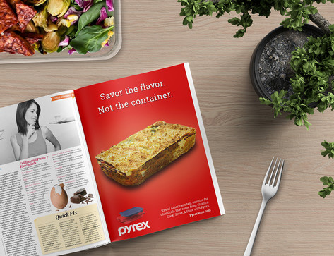 Pyrex Ad Campaign
