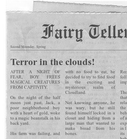 The Fairy Teller Newspaper
