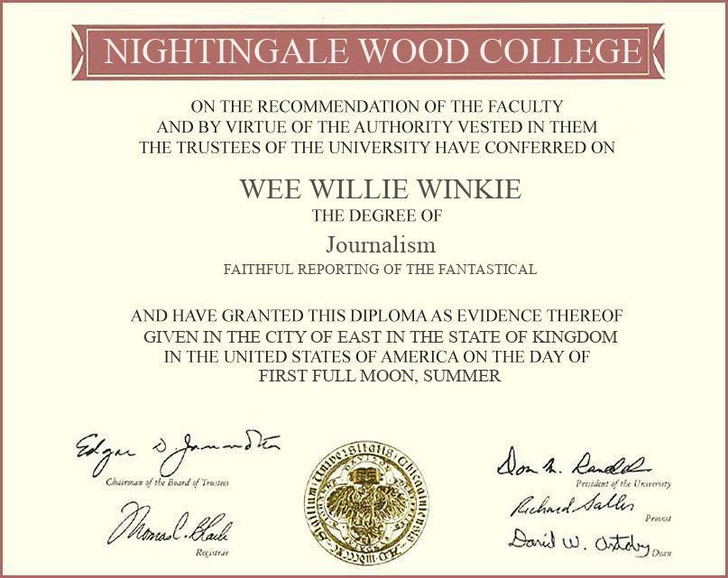 Winkie-Degree