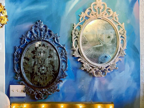 The Tutorialist – Vintage Foxed Mirror