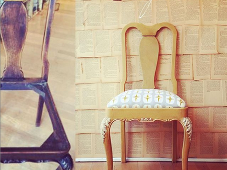 Before & After – Arles Drop Seat Dining Chair