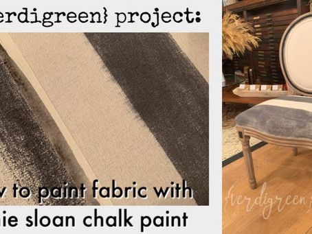 Paintspiration – a chic painted sidechair