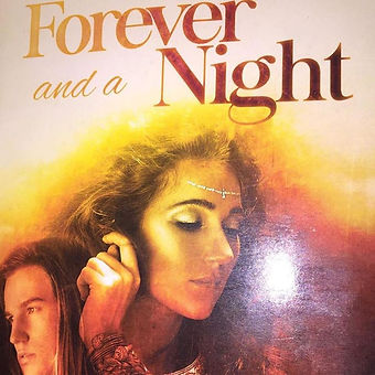 Let's try this again. I am doing a giveaway today for the Kindle E-version of Forever and a Night.jp