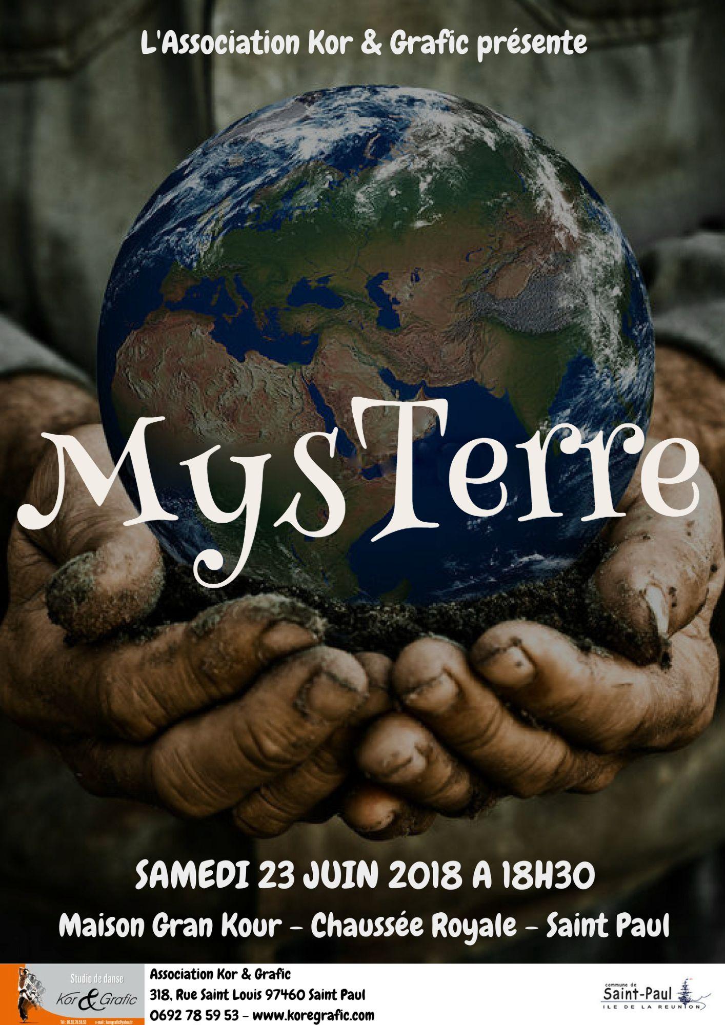 MysTerre 2018 affiche officielle