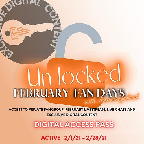 [Unlock]February Fan Days Pass